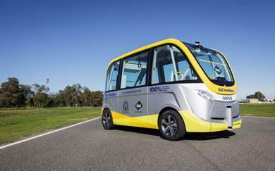 Perth Just Launched Australia's First Fully Driverless Bus