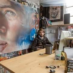 Bedroom Producers: Inside Melbourne Artist Adnate's Colourful Studio