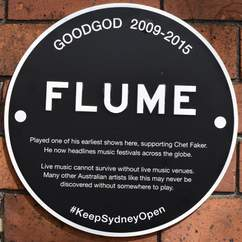Plaques Have Been Installed Around Sydney Commemorating Live Music Venues