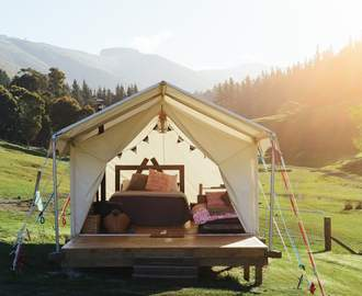 The Five Best Glamping Spots on New Zealand's South Island
