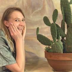 Lucinda The Cactus Girl