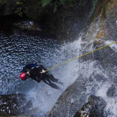 This Is What Happens When You're On a Blue Mountains Canyoning Adventure
