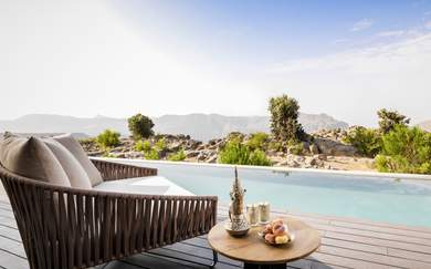 Oman's New Luxury Five-Star Canyon Resort Is Pure, Unbridled Decadence