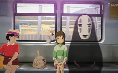 See Studio Ghibli Characters In Real-Life Settings
