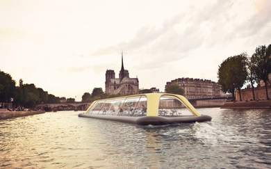 Paris Could Be Getting An Exercise-Powered Floating Gym