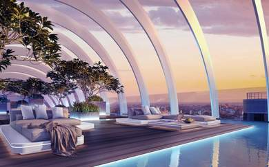 Sydney's New Luxury CBD Hotel to Feature Futuristic Rooftop Oasis