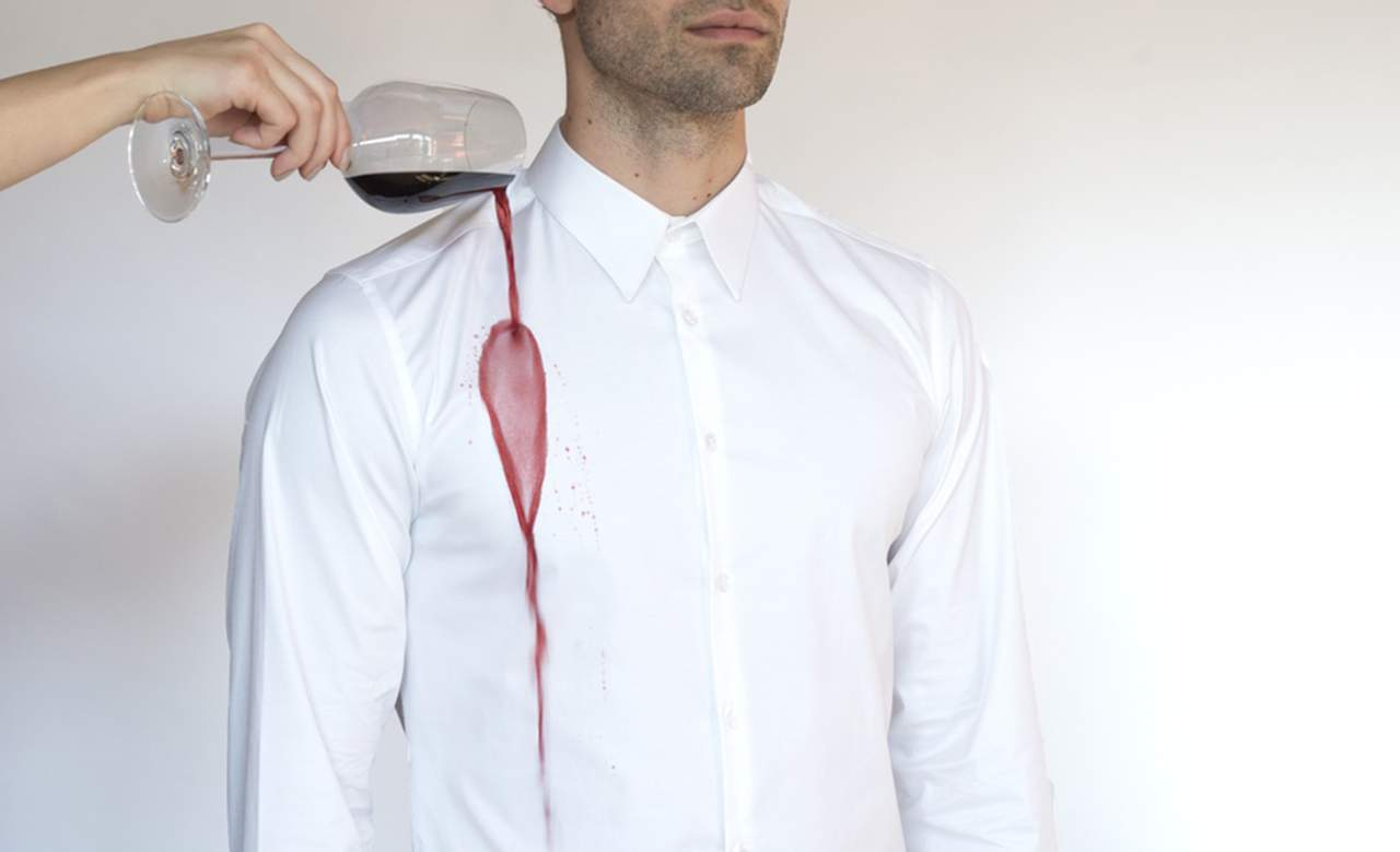 Someone Has Invented a Wine-Resistant Shirt