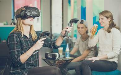 Is Vienna's World-First Virtual Reality Bar the Hangout Spot of the Future?