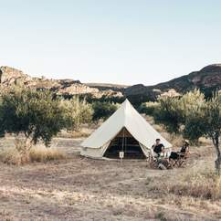 Under Sky Pop-Up Glamping Hotel