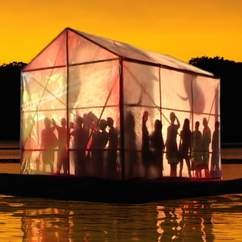 A Floating Theatre is Sailing into Auckland
