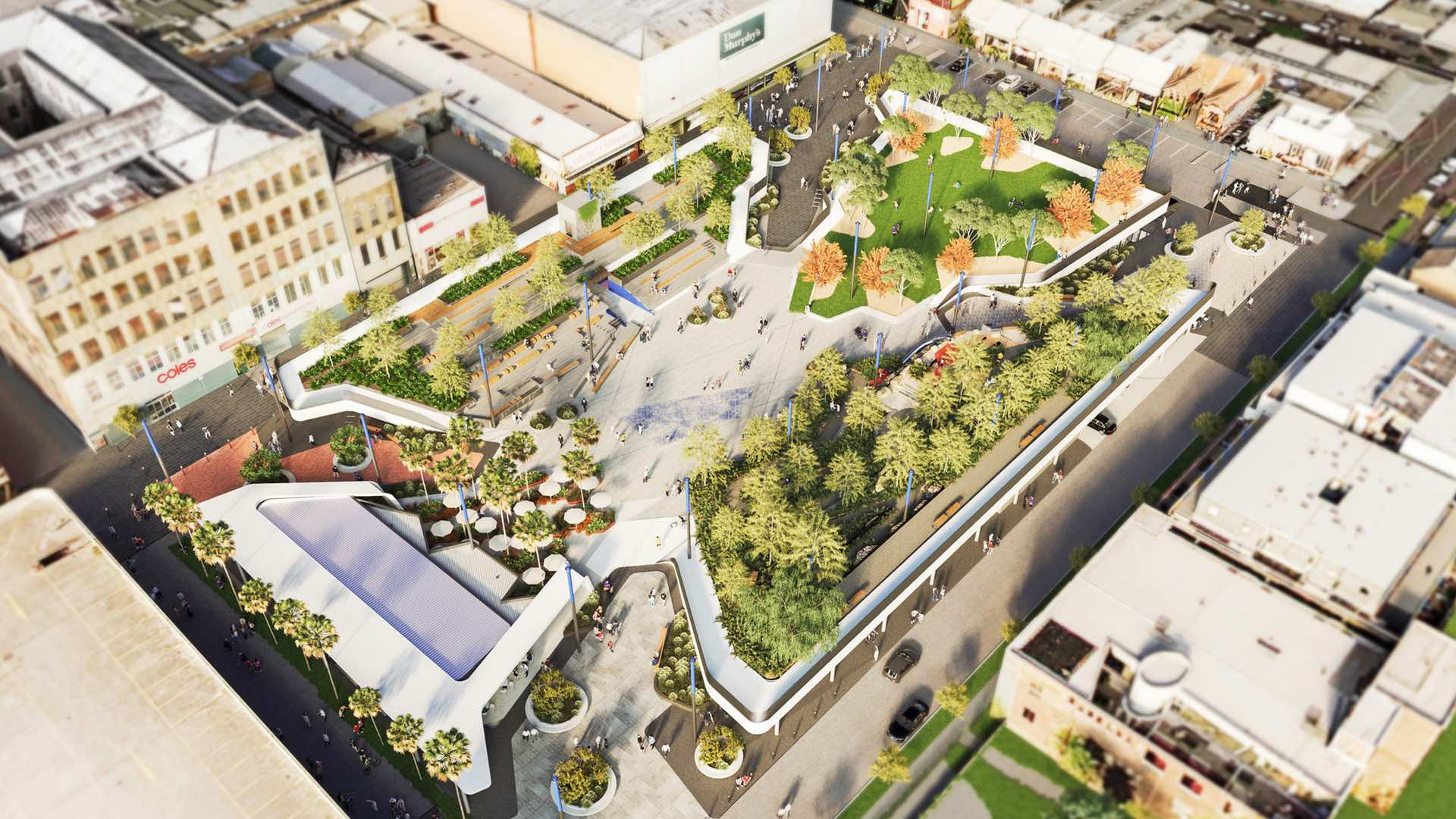Prahran's Cato Car Park to be Transformed Into a $60 Million Urban Park