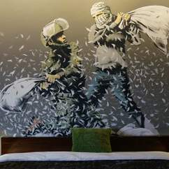 Banksy Opens Walled Off Hotel in the West Bank