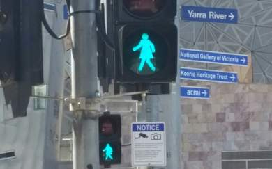 Melbourne Is Getting 'Female' Traffic Lights for International Women's Day