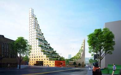 This Eye-Catching Development Takes Inspiration From An Ancient Wonder