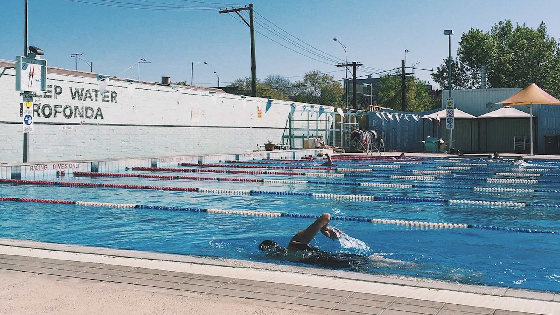 Heated Lunchtime Laps at Fitzroy Pool - Concrete ...