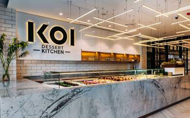 Reynold Poernomo Has Opened a Second KOI Dessert Kitchen in Ryde