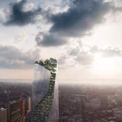 France's New Spiral Skyscraper Takes the Vertical Garden Trend to Great Heights