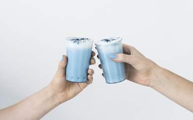 Sydney's Getting a Denim-Inspired Blue Algae Latte Pop-Up