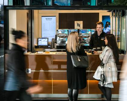 Nespresso On The Go at Auckland Central