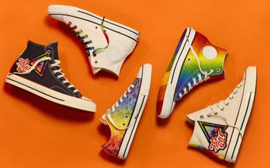 Converse Celebrates the LGBTIQ Community With New Pride Collection