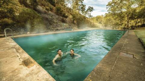 Yarrangobilly Caves Thermal Pool