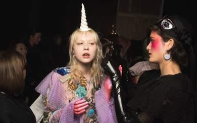 Romance Was Born Closes Australian Fashion Week with Del Kathryn Barton (and Unicorns)