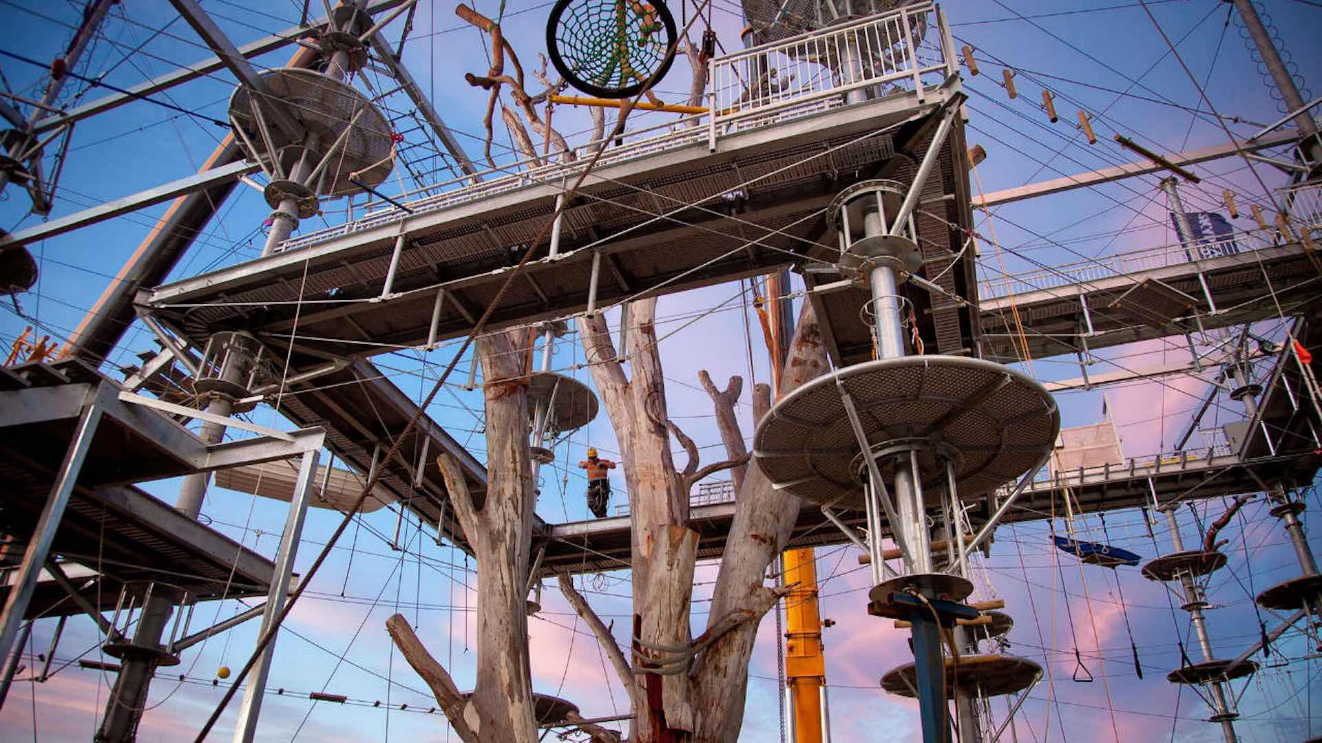 An Adrenaline Rush at Skypeak Aerial Park