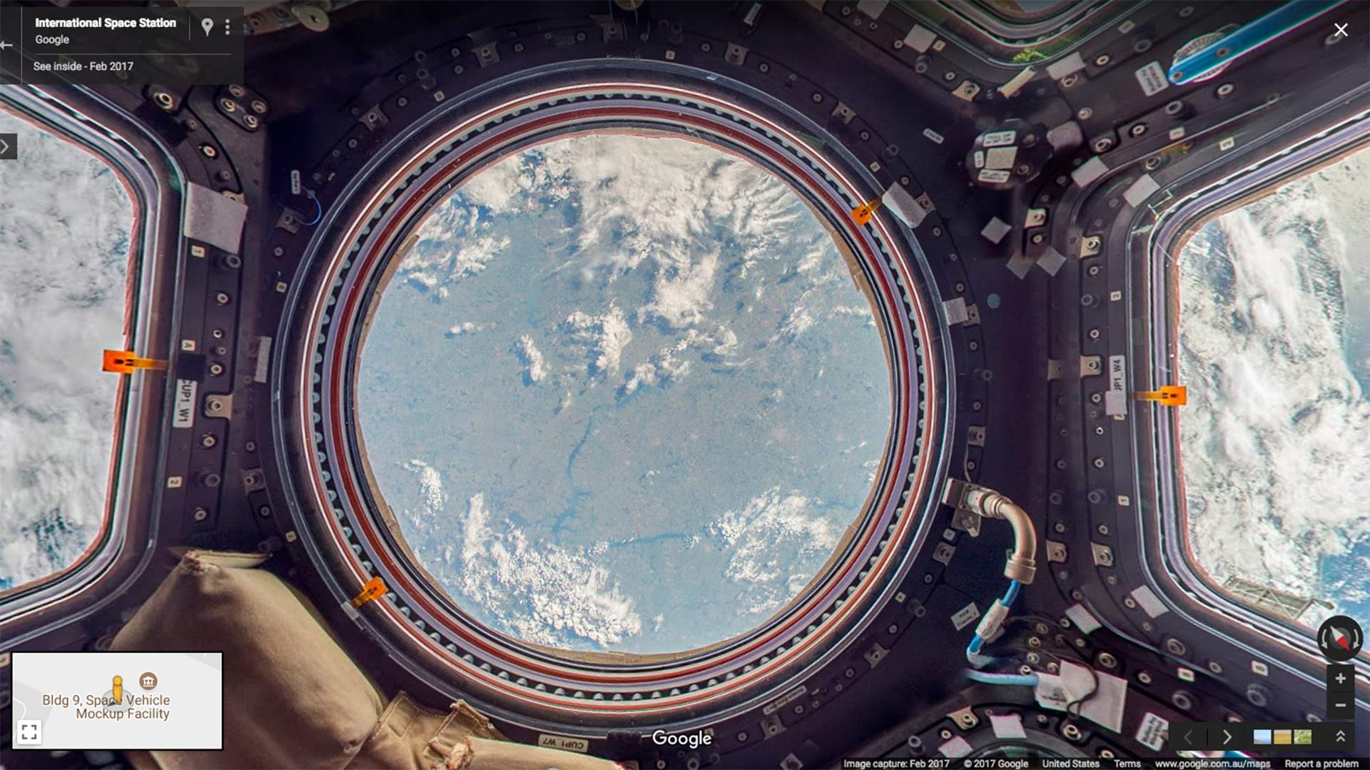 You Can Now Explore the International Space Station with Google Street View