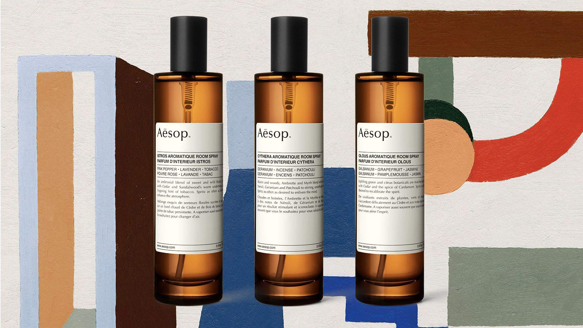 Aesop Teams Up with Composer Jesse Paris Smith to Launch Multi-Sensory Room Sprays