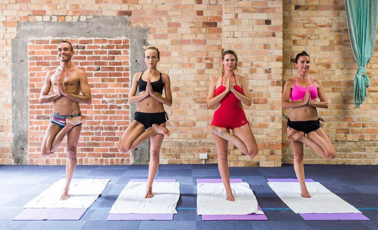 Hot Yoga Works Bikram Marathon