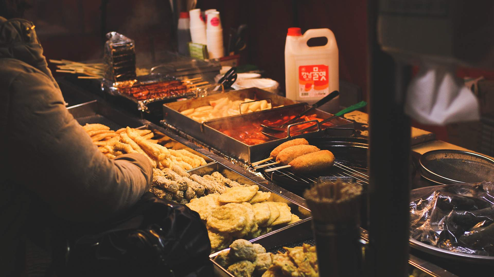 Korean Food Night Market