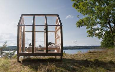 This Remote Cabin in the Swedish Wilderness Could be the Ultimate Way to De-Stress