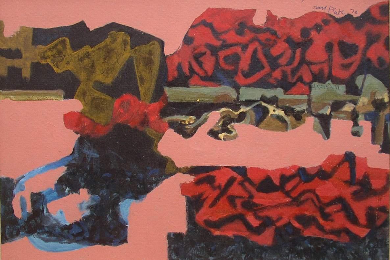 Carl Plate: Hard Colour, Paris Works 1970–1971