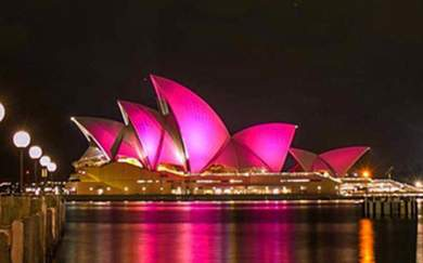 The Sails of the Sydney Opera House Will Light Up Hot Pink to Launch Mardi Gras