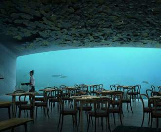 Europe's First Underwater Restaurant Is Now Taking Reservations