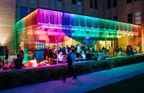 Colour Fields Pop-Up Bar