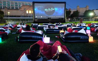 Five Films to See at Sydney's Outdoor Bed Cinema This Summer