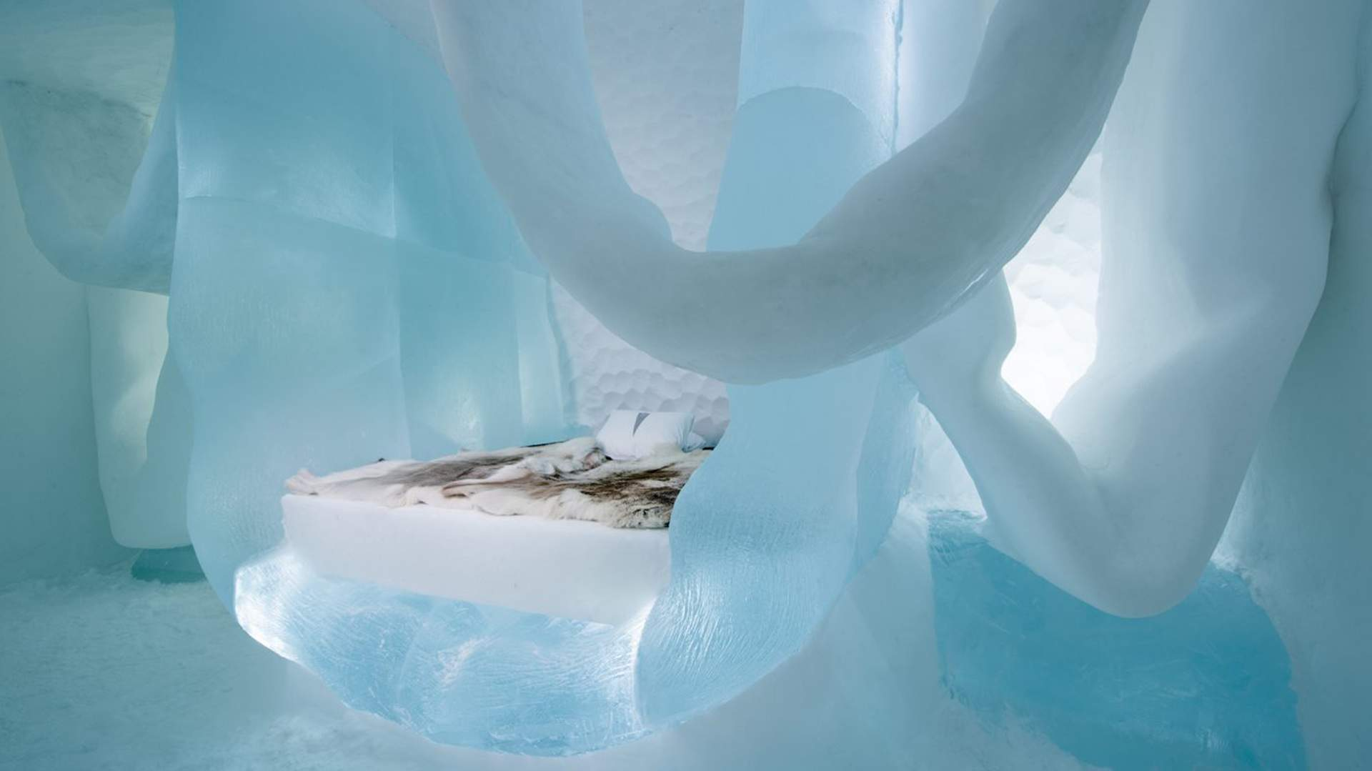Sweden's Ice Hotel Has Unveiled Its Frosty New Artist-Created Rooms