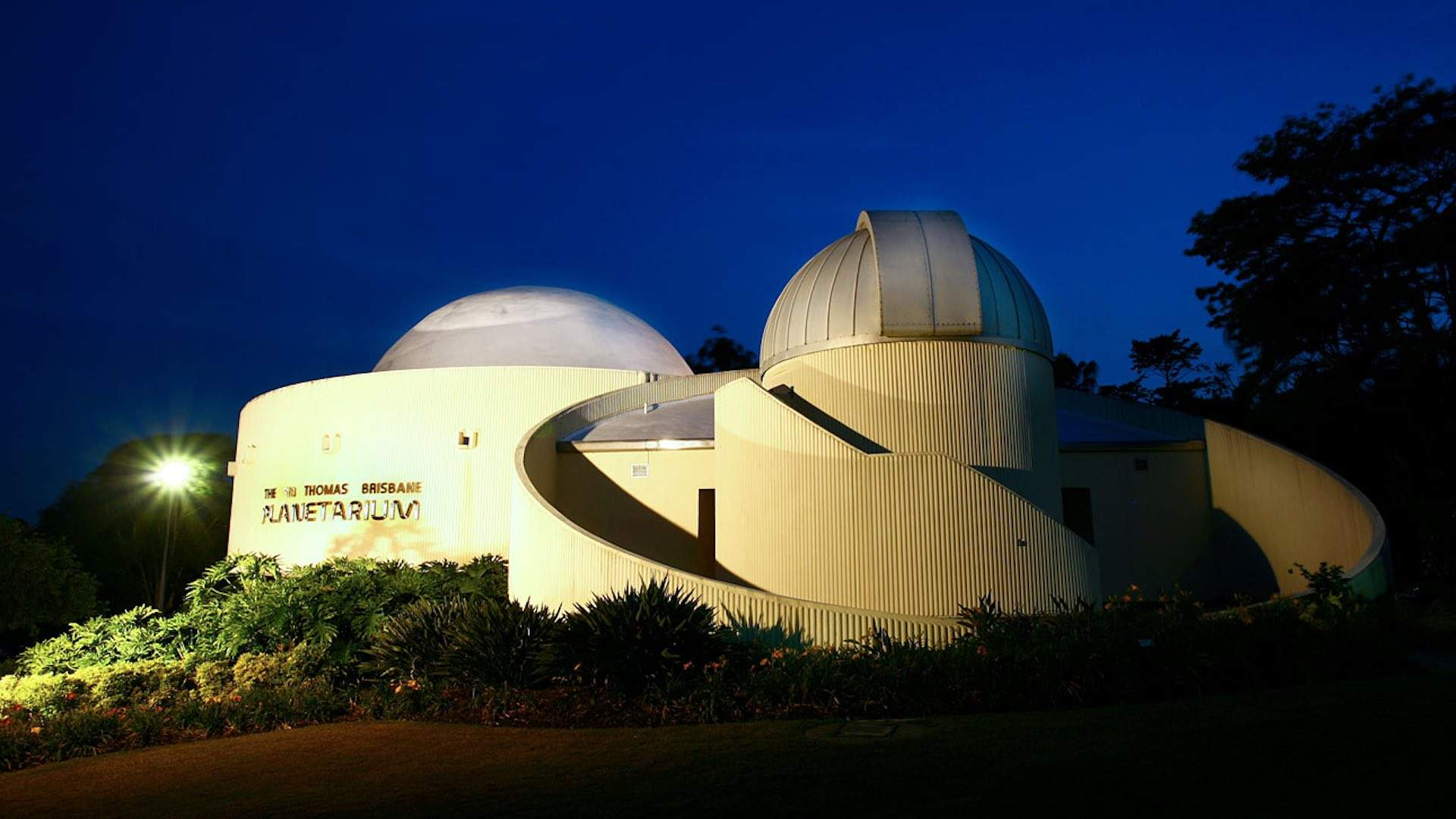 Sir Thomas Brisbane planetarium at Mt Coot-tha