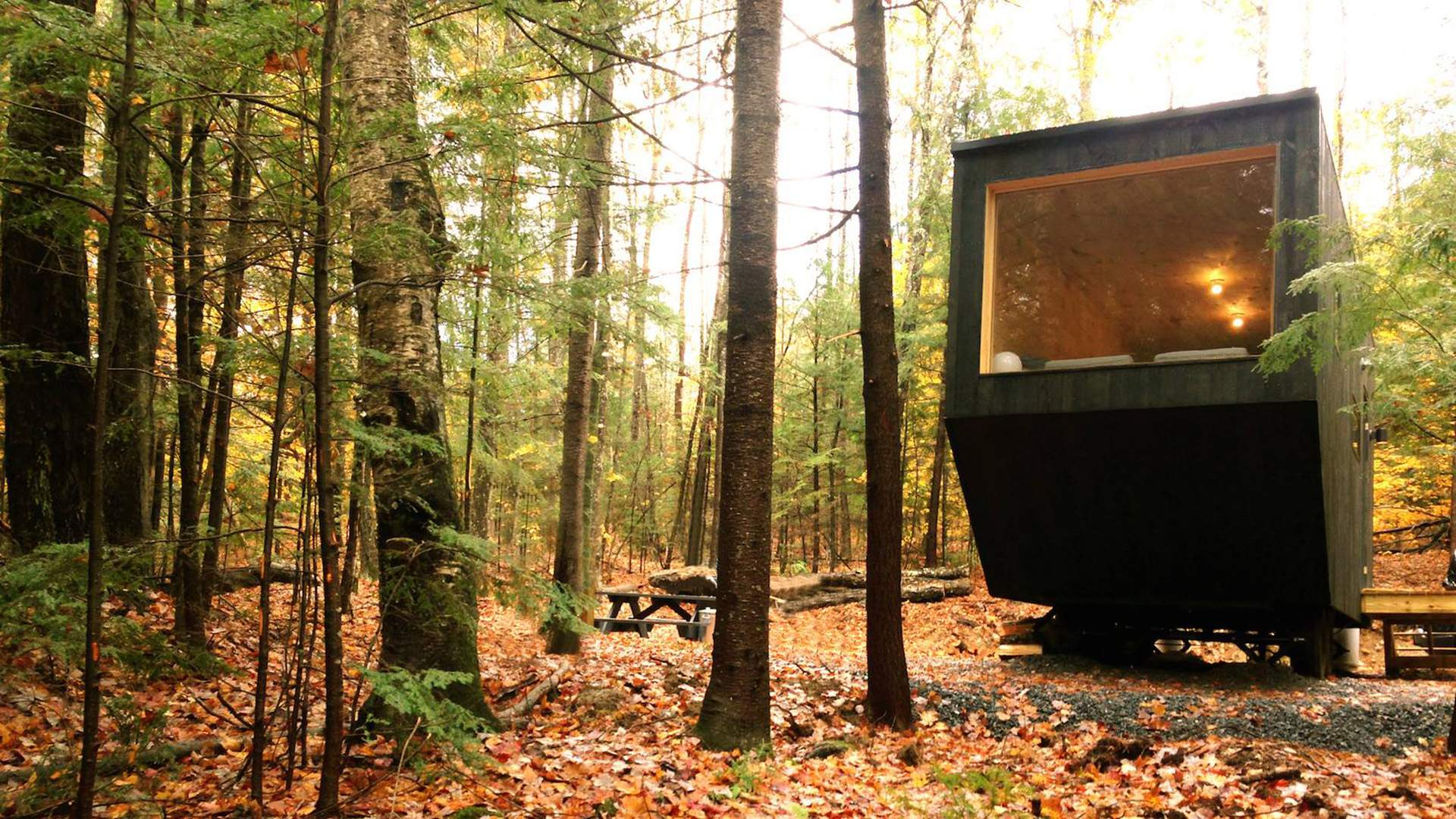 Tiny House Campsites Are Popping up in Secret Locations in the American Wilderness