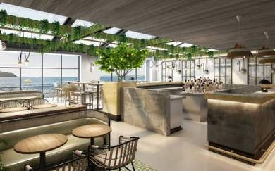 Manly Is Getting a Lush Three-Storey Greenhouse-Like Eatery and Rooftop Bar