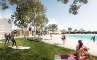 Work on Australia's First Surf Wave Park Kicks Off Next Month