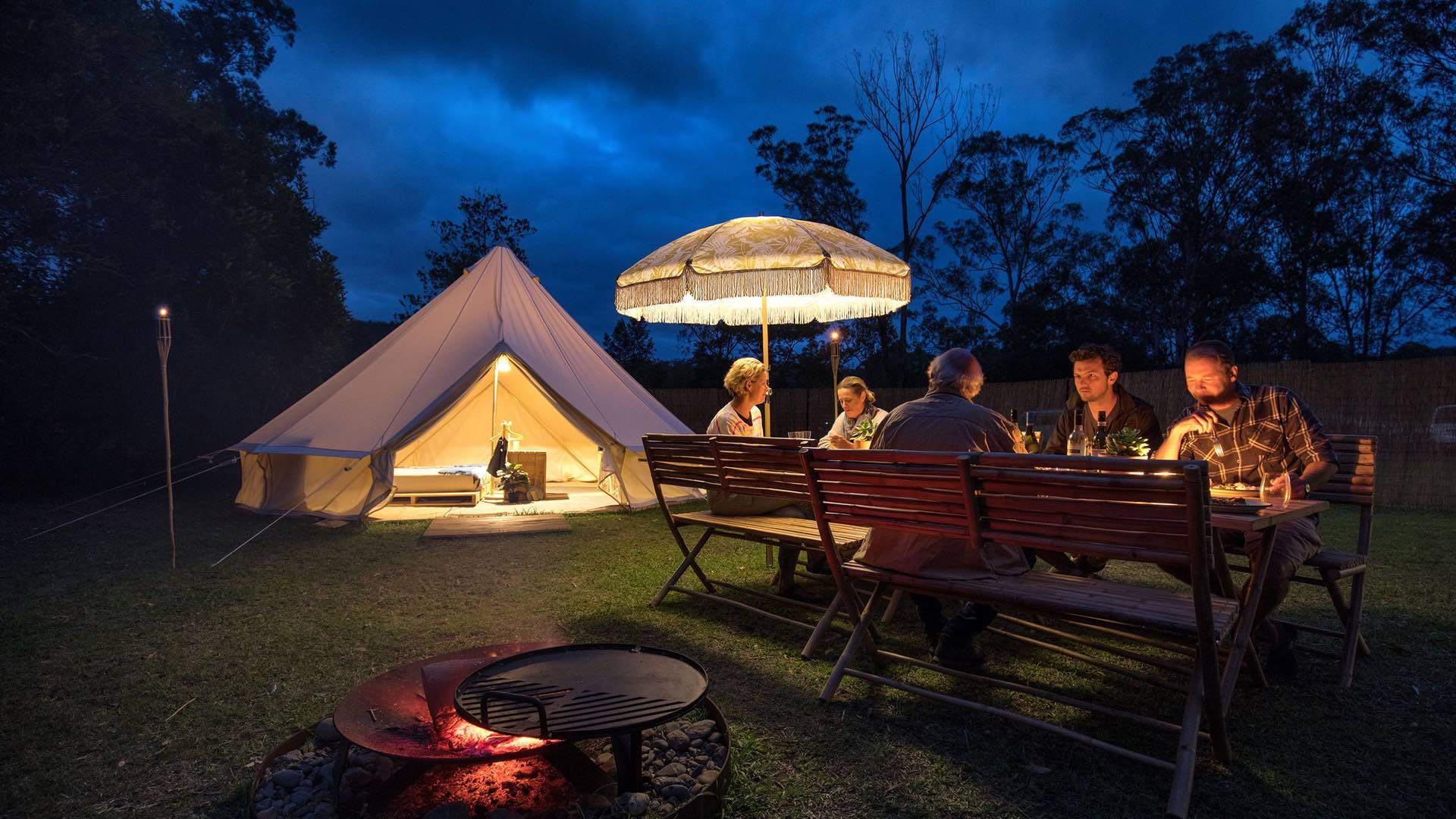 The Nine Best Glamping Spots Near Sydney
