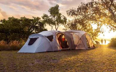 There's a Secret Decked-Out Campsite Hidden Somewhere in Australia