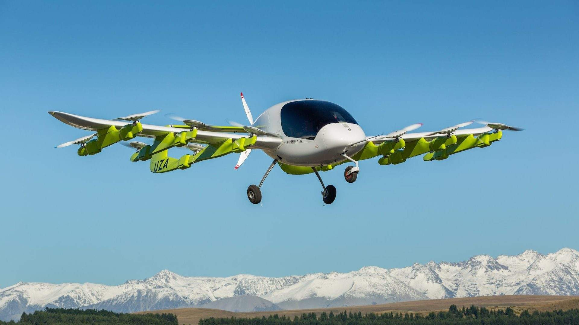 Air New Zealand Has Partnered with Zephyr Airworks to Bring Flying Taxis to New Zealand