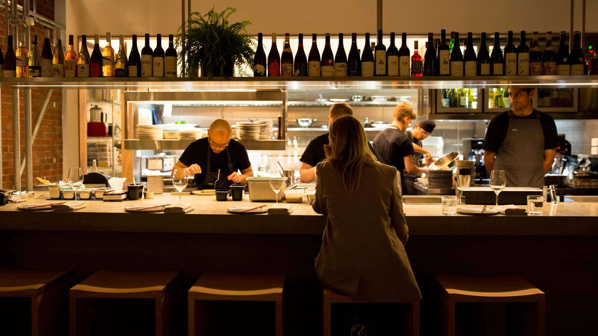 Melbourne Restaurants Where You Can Dine at the Bar