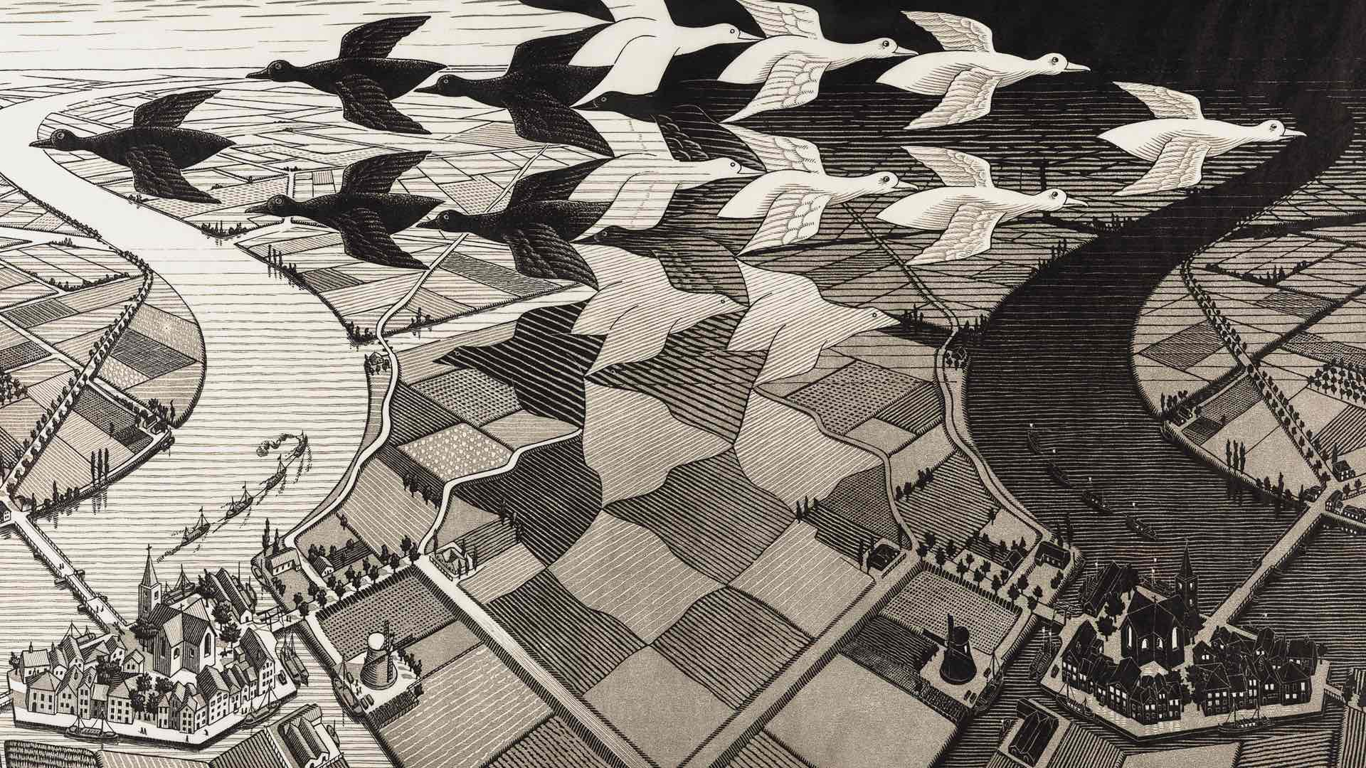 The NGV's Big Summer Exhibition Will Be an Escher-Filled Immersive Optical Illusion