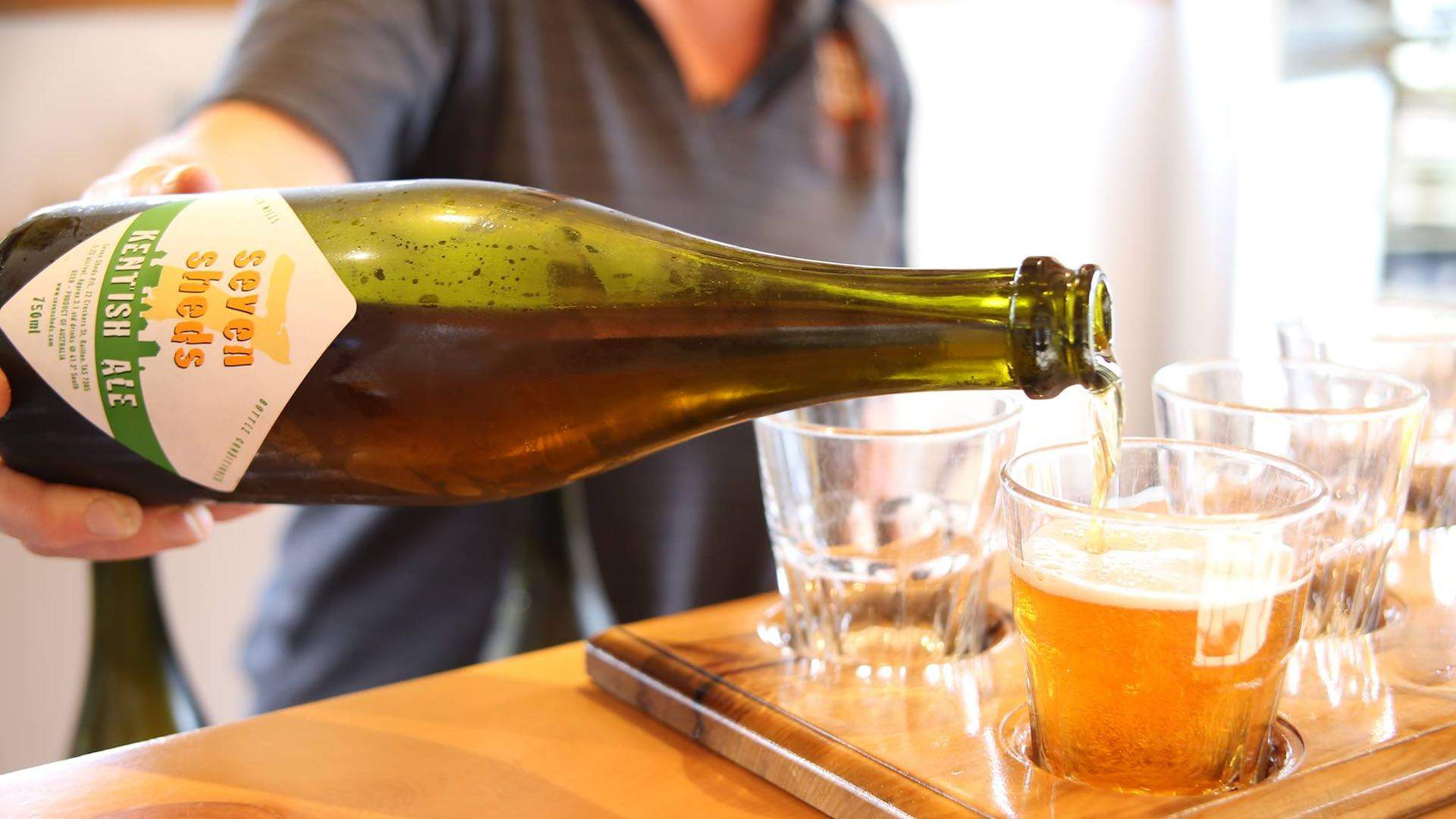 Seven Sheds Brewery Meadery and Hop Garden in Tasmania