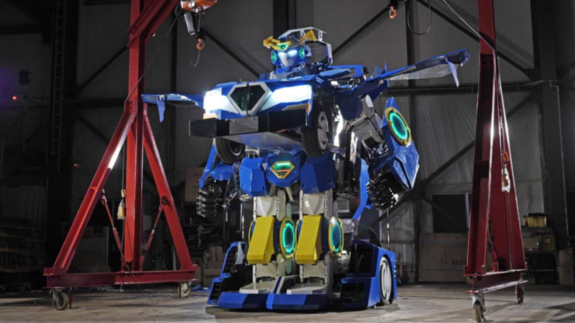 Someone in Japan Has Just Developed an IRL Optimus Prime-Style Transformer Car