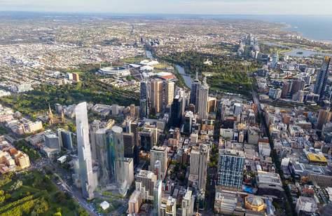 This Super Slender Melbourne Tower Could Soon Be Australia's Tallest Building